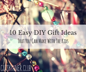 10 easy diy gift ideas