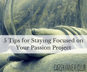 stay focused on passion